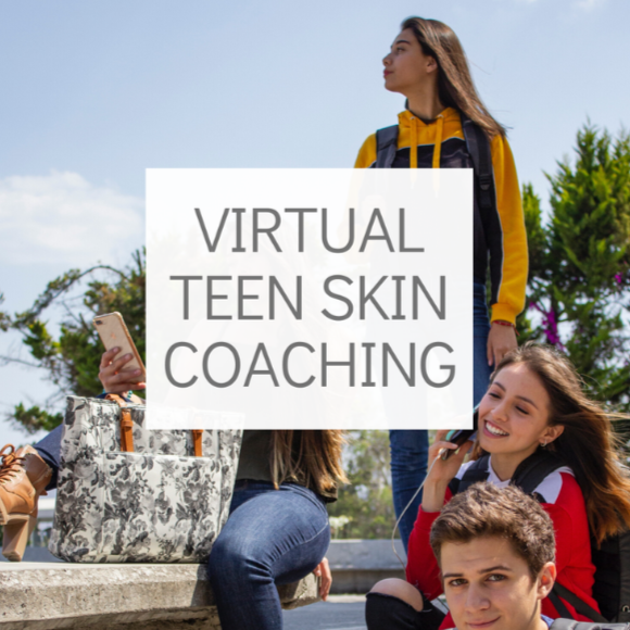 Virtual 1:1 Skin Coaching for Teens
