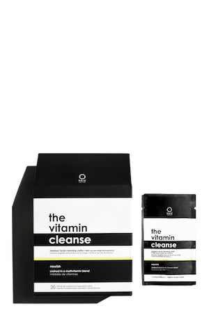 The Vitamin Cleanse: Bamboo Facial Cleansing Cloths
