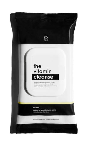 The Vitamin Cleanse: Bamboo Facial Cleansing Cloths-3