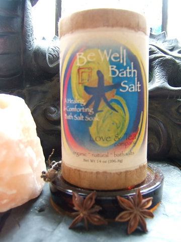 Be Well ~ Bath Salts
