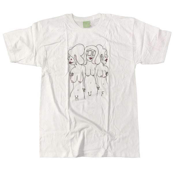 DEADSTOCK Porous Walker x HUF T-Shirt - GIRLS 2008