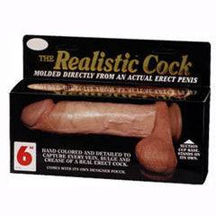 (AD10054) The Realistic Cock 6inch