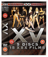 (AD10074) 5 Disc XXX 15 Film DVD Set