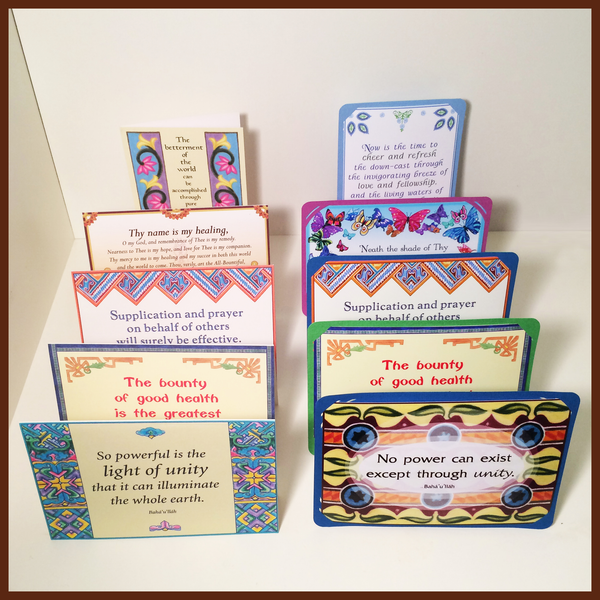 Rectangle Greetings Cards & Stands