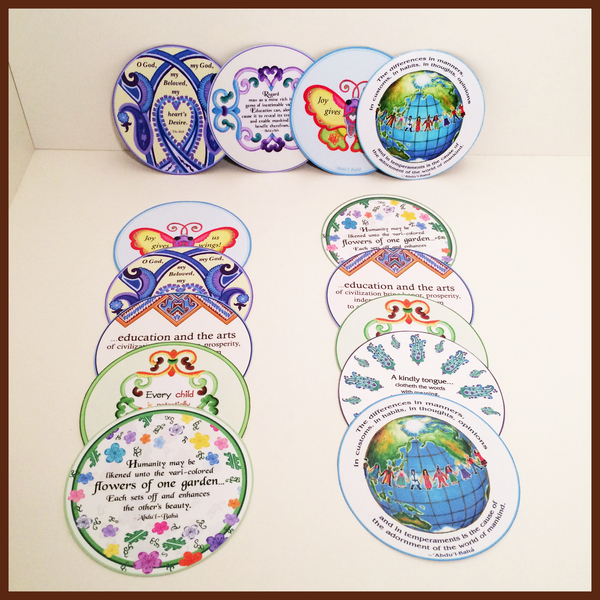 Round Sharing Cards, Magnets & Prints