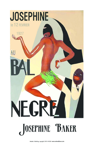 African American historical posters of Josephine Baker ...