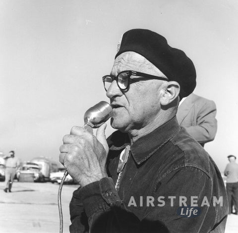 Wally Byam with microphone
