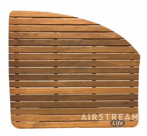 22FB Sport or 23FB Airstream Teak Shower Mat