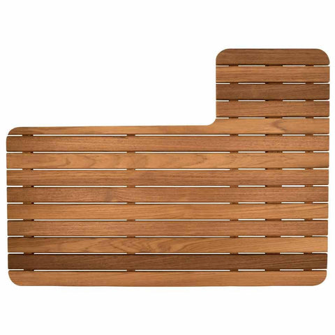 30RB Airstream Teak Shower Mat