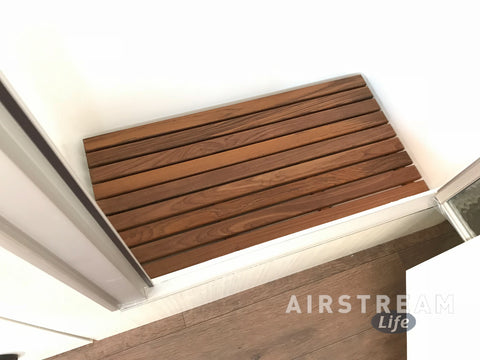 25RB / 28RB / 30RB Twin Airstream Teak Shower Mat