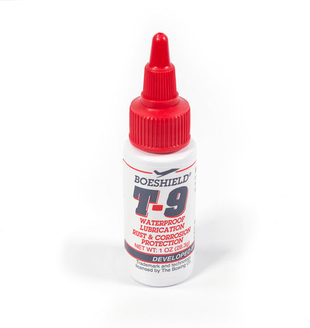 Boeshield T-9 corrosion protection