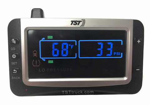 Color Tire Pressure Monitor Upgrade