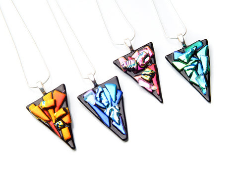 Triangle Abstract Pendant