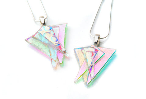 Pastel Abstract Pendant