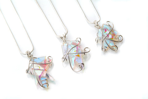 Pastel Twisted Wire Pendant