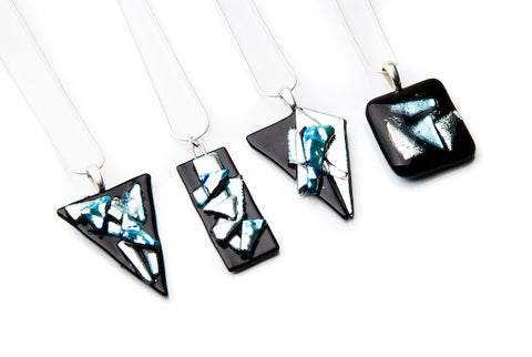 Black, Silver Pendants