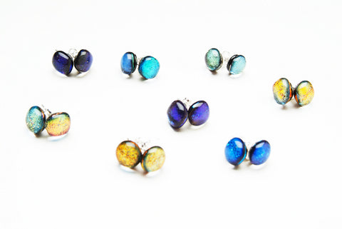 Dichroic Small Studs