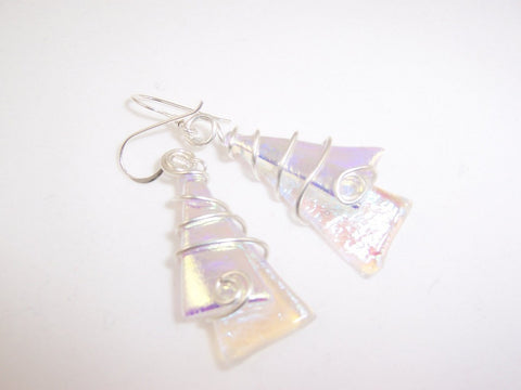 New Pastel Twisted Wire Earrings