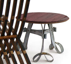 Greenjeans - Brooklyn shop & gallery of fine craft handmade by independent artisans - Wine Barrel Side-Kick Table