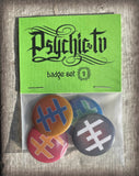Limited edition badge sets