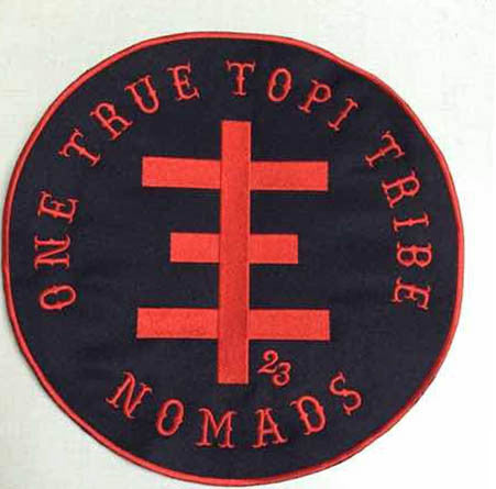 OTTT NOMADS Embroidered back patch