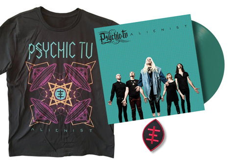 Alienist LP + t-shirt + patch BUNDLE