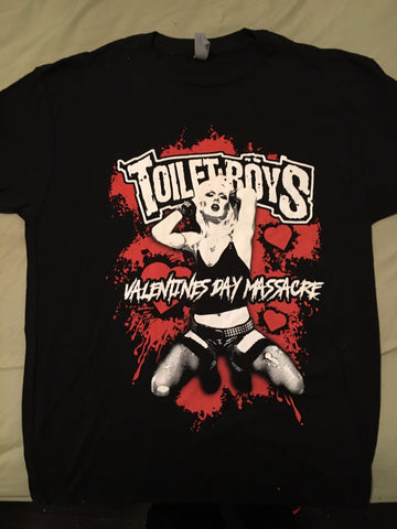 Toilet Boys Valentines Day Massacre t-shirt