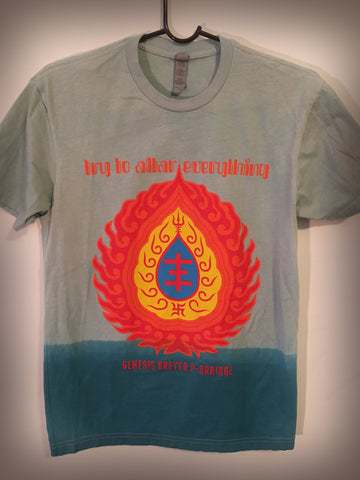Try To Altar Everything special edition hand dyed t-shirt - ON SALE!