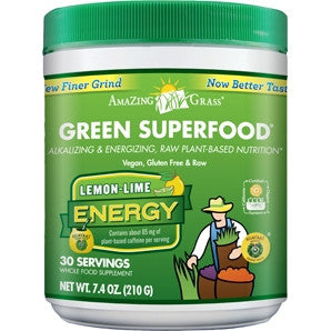 Green SuperFood Energy Lemon Lime - 30% OFF