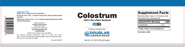 Colostrum 100% Pure New Zealand 180 GM