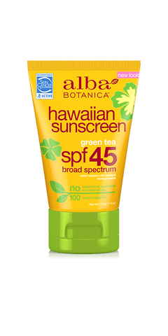 Hawaiian Sunscreen SPF45 - 4oz
