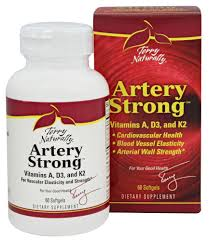 ARTERY STRONG™* Vitamins A, D3, and K2 for Vascular Elasticity and Strength*