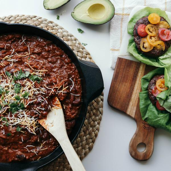 Grass-Fed Beef Chili with Beans