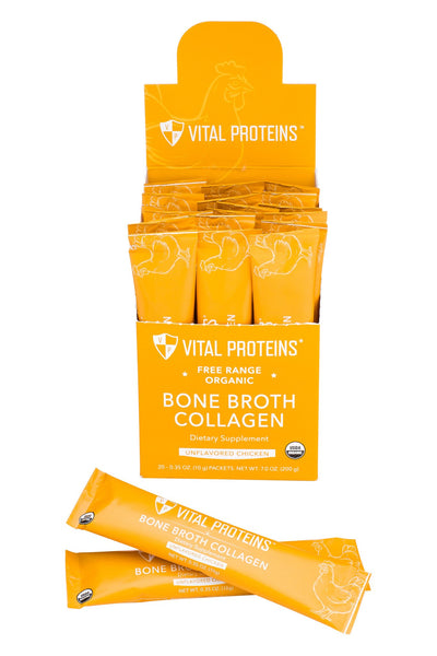 Bone Broth Collagen - Organic, Free Range Chicken - 10 oz - Clearance 35% OFF