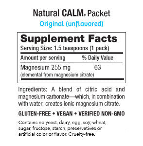 Natural Calm Packets Original (Unflavored) (30 count)