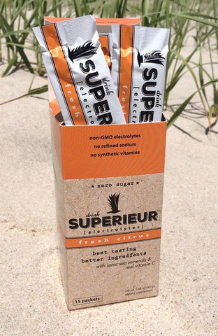 Superieur Electrolytes Fresh citrus 15 Packets