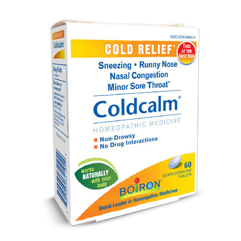 ColdCalm® Liquid & Tablets - 20% OFF