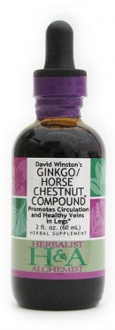 Ginkgo/Horsechestnut Compound 1oz