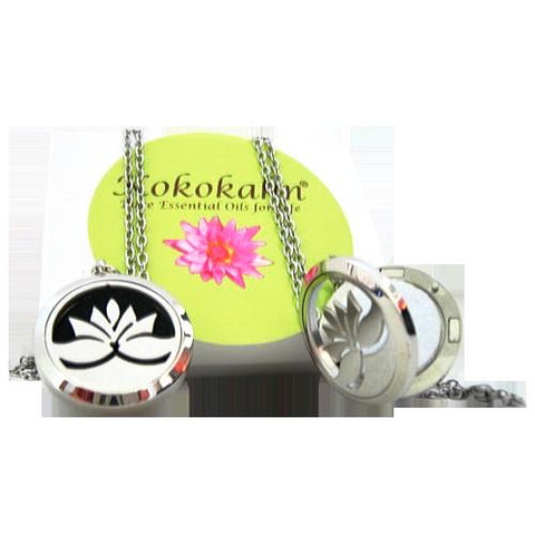 Essential Oil Necklace with Zen Essential Oil