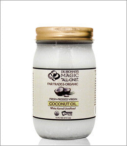 Fair Trade Organic White Virgin Coconut Oil 14 oz.