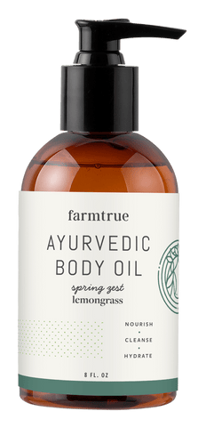 Ayuveric Body Oil - Spring (Lemongrass)