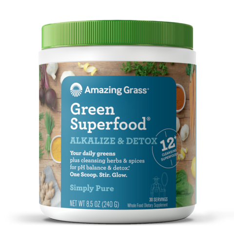Green Superfood Alkalize & Detox Simply Pure