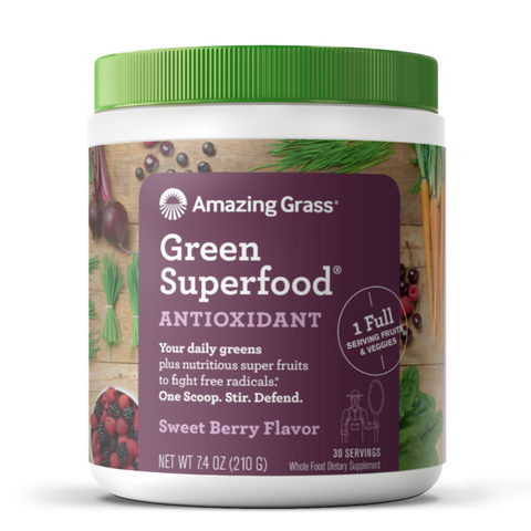 Green Superfood Antioxidant Sweet Berry