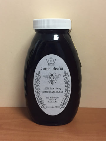 Raw Local Summer Ambrosia Honey