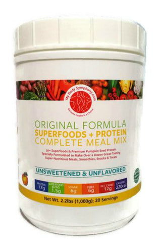 Complete Meal Mix = Superfoods + Protein