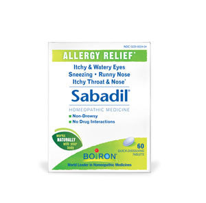 Sabadil® Tablets (New name RhinAllergy)