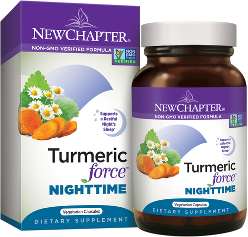 Tumeric Force Nightime - was Zyflamend® Nighttime Supports Restful Sleep*