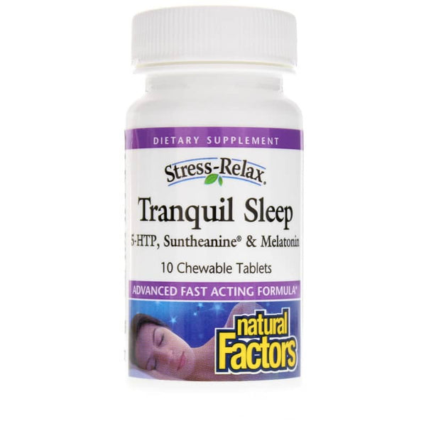Tranquil Sleep Stress-Relax® Chewable Tablets