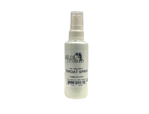 Throat Spray 2oz