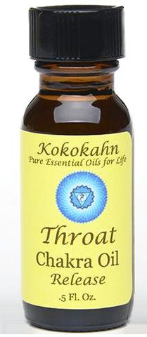 Throat Chakra Oil - 10% OFF